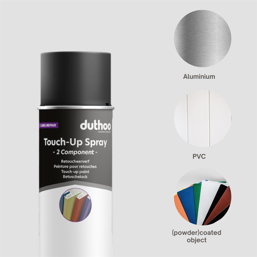 TOUCH UP SPRAY 2C DTM RAL 30% MAT 400ML