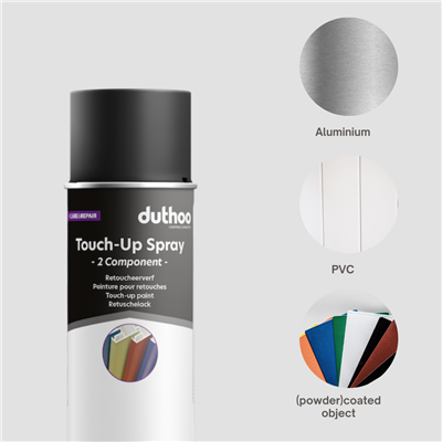 TOUCH UP SPRAY 2C DTM RAL 85% GLOSS 400ML