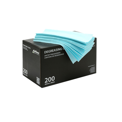 DEGREASING CLOTH BLUE ( 200pc )